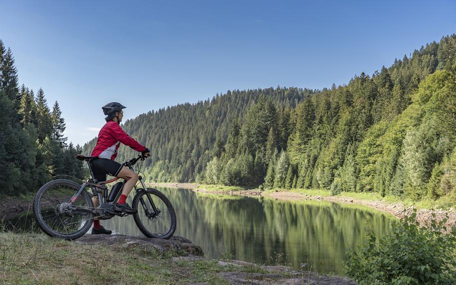 Mountain bike rentals are available from Baumholder Outdoor Recreation.