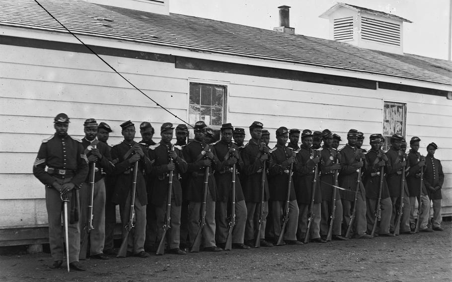 The  54th Massachusetts Volunteer Regiment