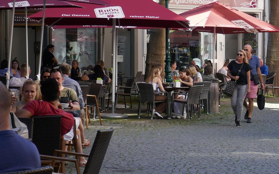 The Fulda old town is full of shops, cafes and restaurants, making it a nice place to enjoy the day, or a place to rest while sightseeing.