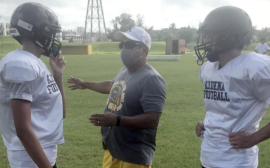 Sergio Mendoza enters his 16th season as head coach of a Kadena team he says this season is starting from scratch more than ever during his tenure.