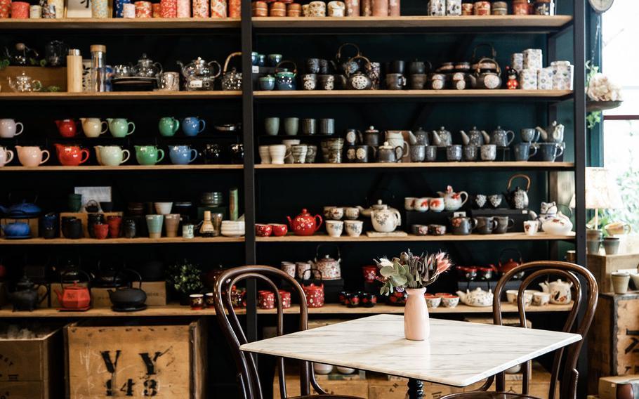 The Berry Tea Shop.