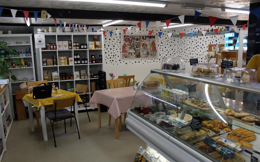Most of the food at Barleycorn in Mildenhall, England is handmade. The shop is a few minutes down the street from RAF Mildenhall, offering dine-in and takeout service.