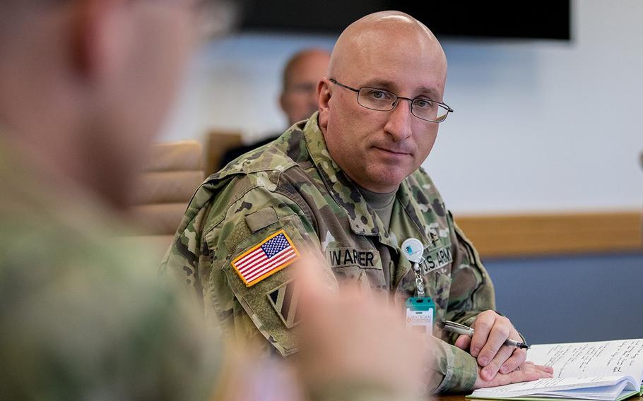 Col. Chris Warner, 47, an Army psychiatrist, was removed last year from command of Madigan Army Medical Center at Joint Base Lewis-McChord, Wash., following an investigation that he raped his family's live-in nanny 14 years earlier, according to documents provided to Stars and Stripes. He will face a disciplinary hearing later this month.