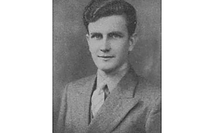 World War II Marine veteran pfc. John Franklin Middleswart