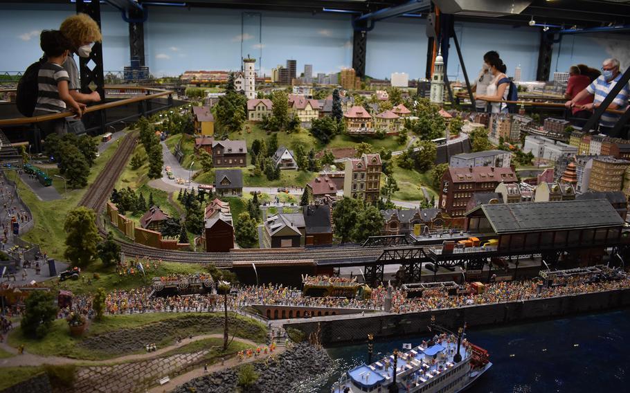 Hamburg's Miniatur Wunderland museum showcases tiny versions of landmarks around the world.