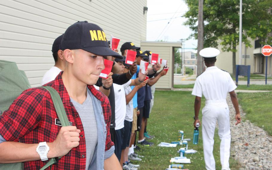 Students who attend the Naval Academy Preparatory School on Naval Station Newport arrive from all over the country for a 10-month course.