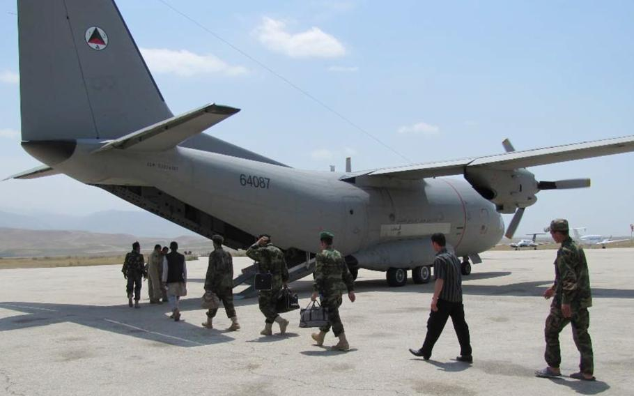 The U.S. Air Force spent $549 million on aircraft for the Afghan Air Force, most of which were junked a few years later at a scrap value of $40,257, according to the Special Inspector General for Afghanistan Reconstruction.