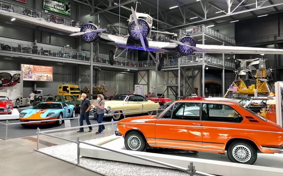 In addition to aircraft, the Technik Museum Speyer in Germany features a huge collection of classic cars and other vehicles.