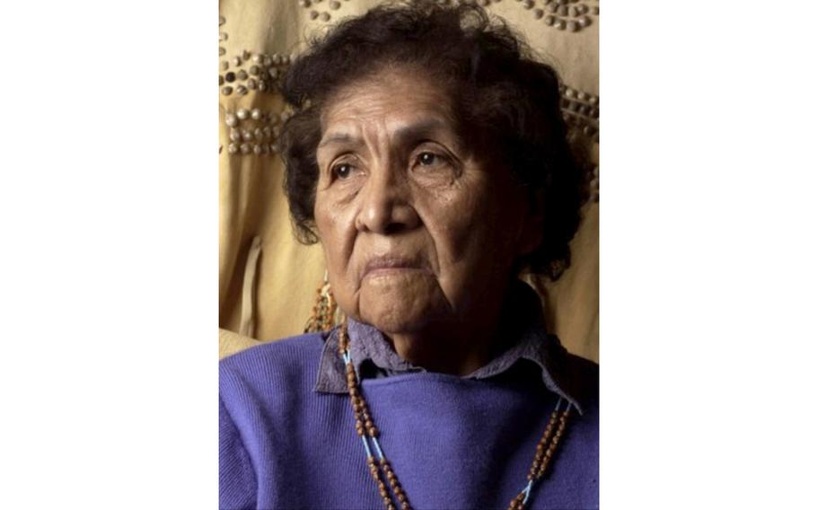 Mae T. Parry — an elder and historian of the Northwestern Band of the Shoshone Nation — wrote of the Bear River massacre that killed roughly 350 members of her tribe. She's the granddaughter of Chief Sagwitch, who survived the massacre.