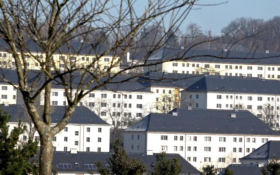The Wetzel military housing community in Baumholder, Germany. A new Rand Corp. report found that male soldiers based at Baumholder were more at risk of being sexually assaulted than any at other Army post, citing 2018 data.