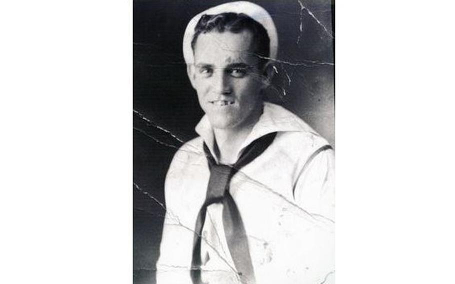 Navy Fireman 2nd Class Ralph Curtis Battles, 25, was on board the USS Oklahoma Dec. 7, 1941.