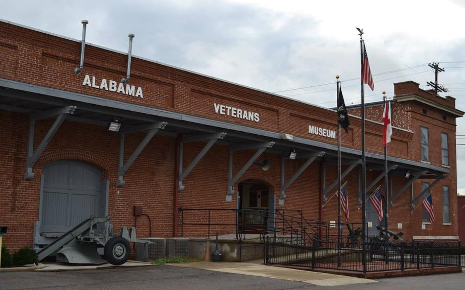 The Alabama Veterans Museum began talks of growing its space six years ago and initially anticipated adding onto the existing facility, shown, a reconverted L&N freight depot which is a century old.