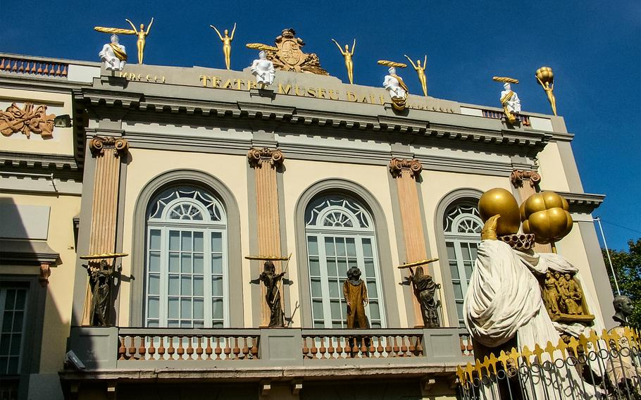 The Dali Theater-Museum in Figueres, Spain, was designed and built by Salvador Dali and celebrates his life and work as one of the most intriguing artists of the 20th century.