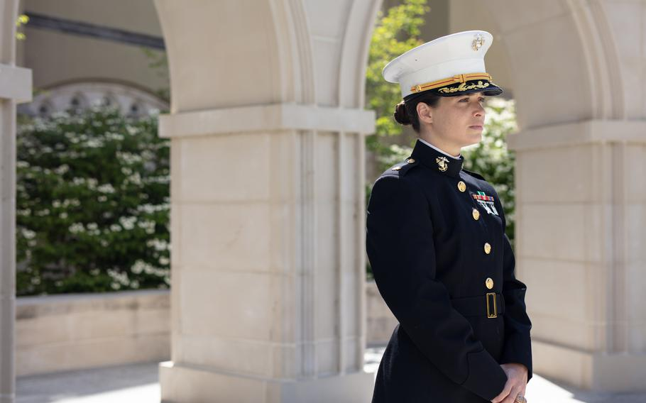 Elizabeth Dobbins Moskowitz, a 2010 graduate of VMI, says she was threatened and heckled by male cadets when she attended the school.