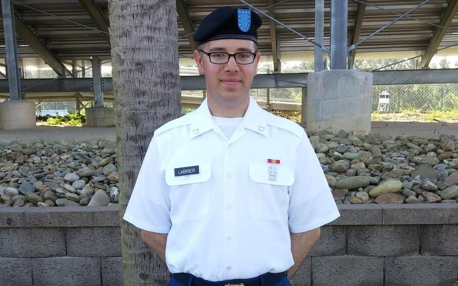 Taylor Labrier was a communications expert with the 183rd Wing based in Springfield, according to theIllinois ArmyandAir National Guard. He transferred from theIllinois Army National Guardto theIllinois Air National Guardlast year, after first enlisting in 2014.