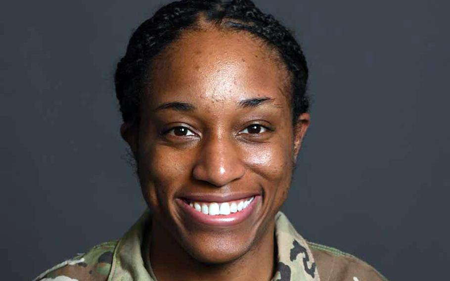 Army Staff Sgt. Naomi Graham, an ammunition specialist from Fayetteville, N.C., is one of the United States' best hopes for a medal at the Tokyo Olympics.