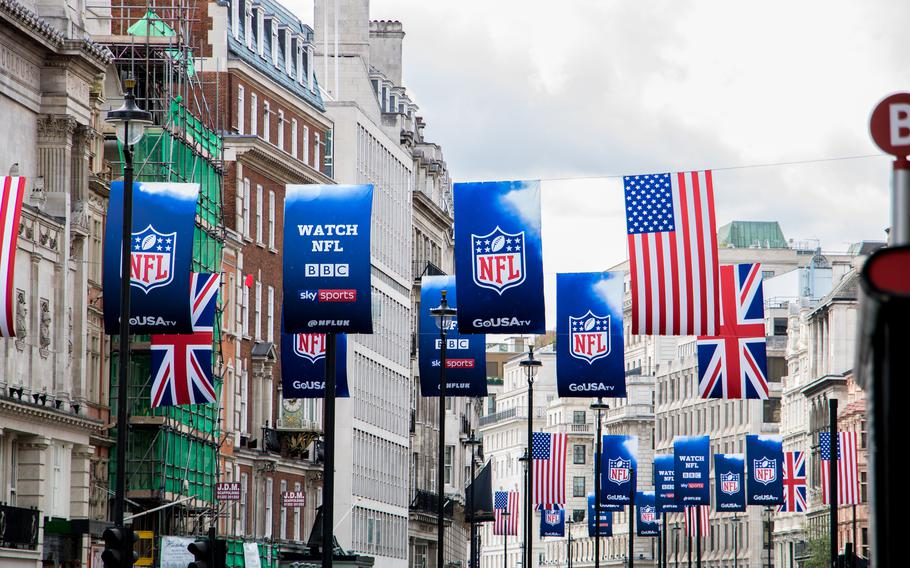 Kaiserslautern Outdoor Recreation is planning a trip Oct. 8-11 to see an NFL game in London as the New York Jets take on the Atlanta Falcons.