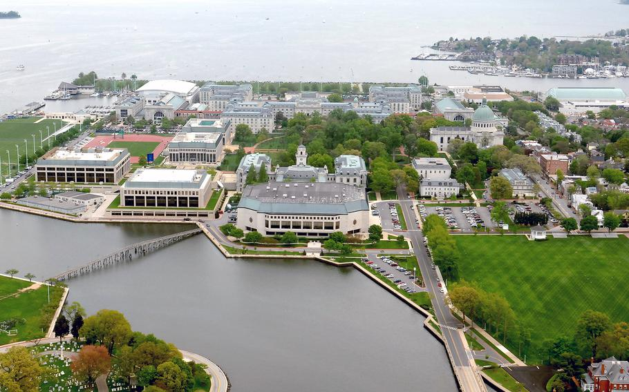 The U.S. Naval Academy is shown in this undated file photo.