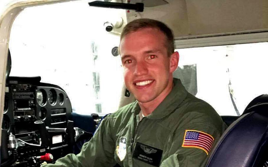 1st Lt. Kenneth ''Kage'' Allen, an F-15 pilot with the 493rd Fighter Squadron out of RAF Lakenheath, England, was killed June 15, 2020, when his fighter jet crashed into the North Sea.