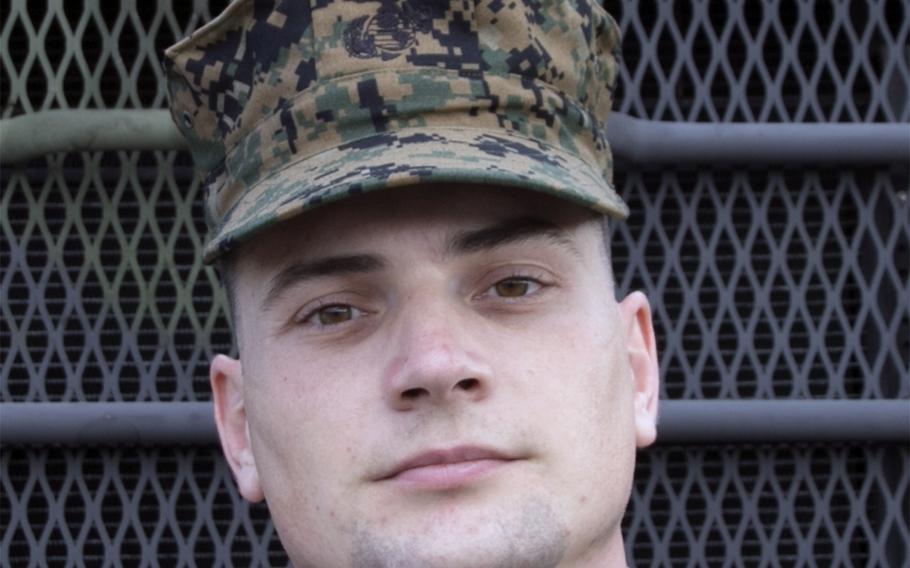 Marine Maj. Jenkyn Kittrell's simple, cost-effective way of distributing water in the wake of a natural disaster recently earned him a Navy and Marine Corps Achievement Medal.