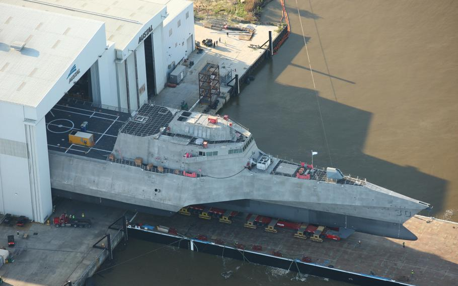 The future USS Canberra (LCS 30) will be christened on Saturday, June 5, 2021.