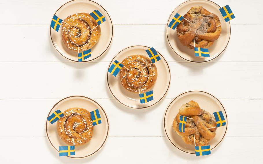 Swedish cinnamon buns called kanelbullar are so popular, they have their own day -- Oct. 4.