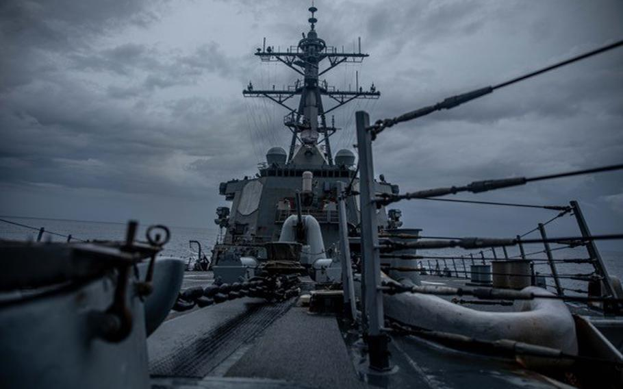 The Arleigh Burke-class guided missile destroyer USS Curtis Wilbur conducted a routine Taiwan Strait transit June 22 through international waters in accordance with international law. The ship's transit through the Taiwan Strait demonstrates the U.S. commitment to a free and open Indo-Pacific region.