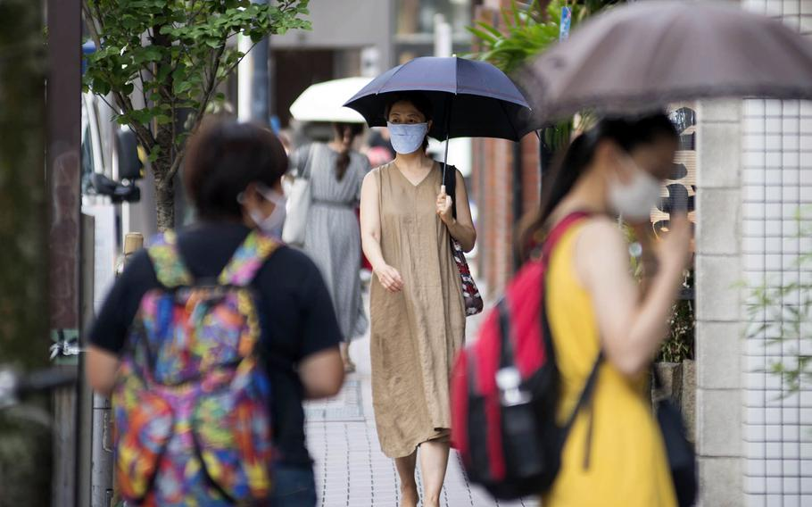 Japan has reported 946,000 people infected with the coronavirus and 15,222 deaths as of Tuesday, Aug, 3, 2021. Just under 30% of the nation's population is fully vaccinated.