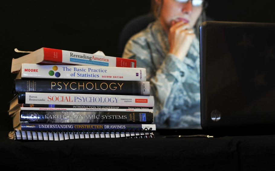 The military has a variety of financial assistance programs to help fund service members' educational pursuits.