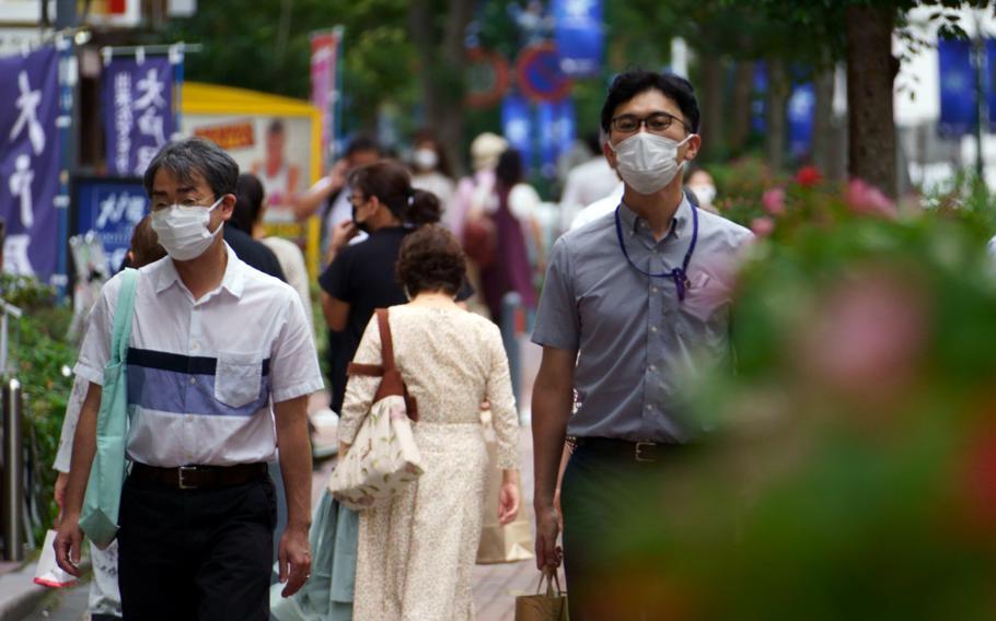 Tokyo reported 831 new coronavirus infections on Thursday, Sept. 16, 2021.