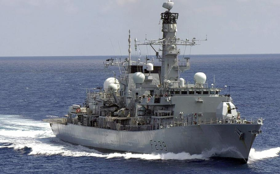 The HMS Richmond, a frigate that's operating in the Indo-Pacific region with the aircraft carrier HMS Queen Elizabeth, tweeted through its official account that it had transited the Taiwan Strait on Monday, Sept. 27, 2021.