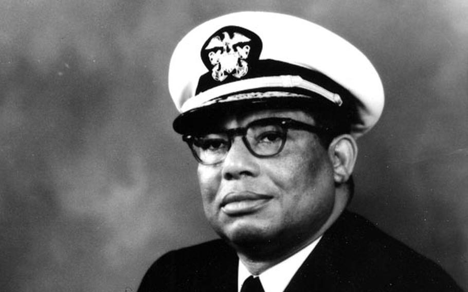 Vice Adm. Samuel Lee Gravely Jr. was the U.S. Navy's first Black admiral.