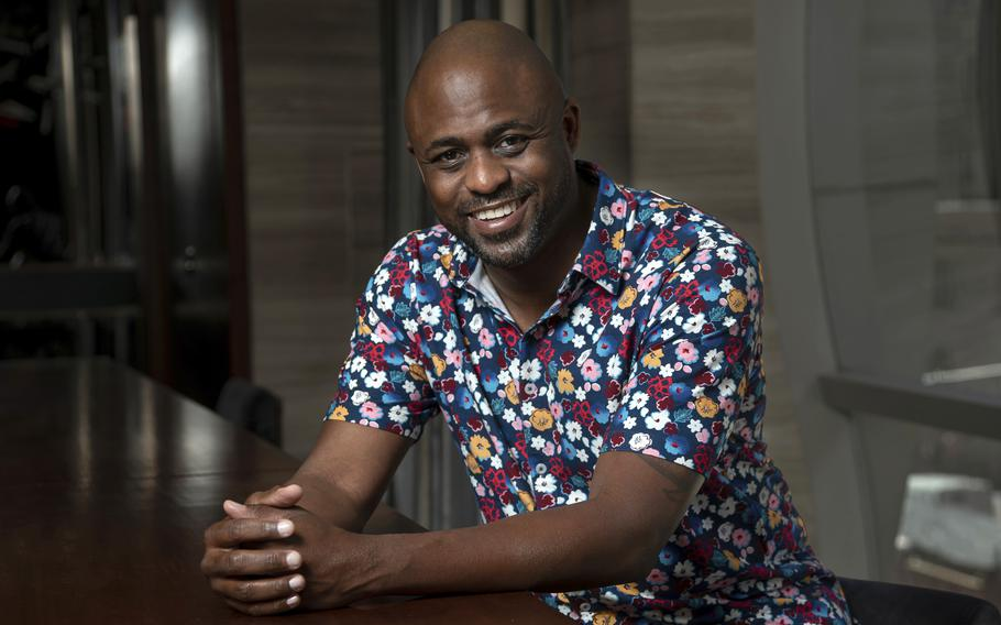 """Actor, comedian and singer Wayne Brady breaks down his life experiences in the poignant, eight-minute spoken-word track  """"A Piece by the Angriest Black Man in America (or, How I Learned to Forgive Myself for Being a Black Man in America)."""""""