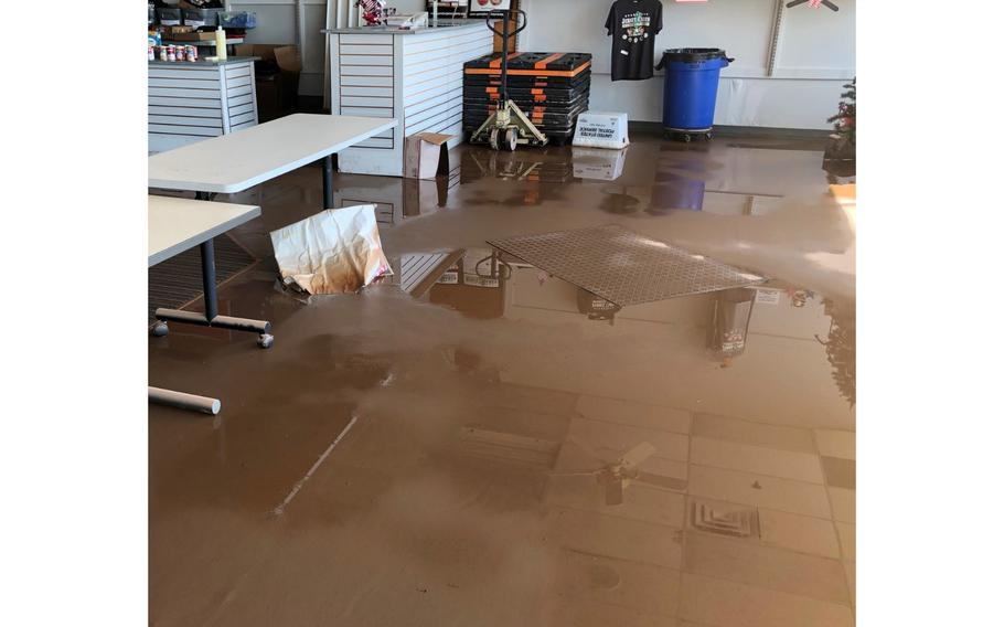Operation Jersey Cares, a nonprofit based inRaritan Borough, saw water rise about 4½ feet in its 4,500-square-foot headquarters site at theRaritan Mall.