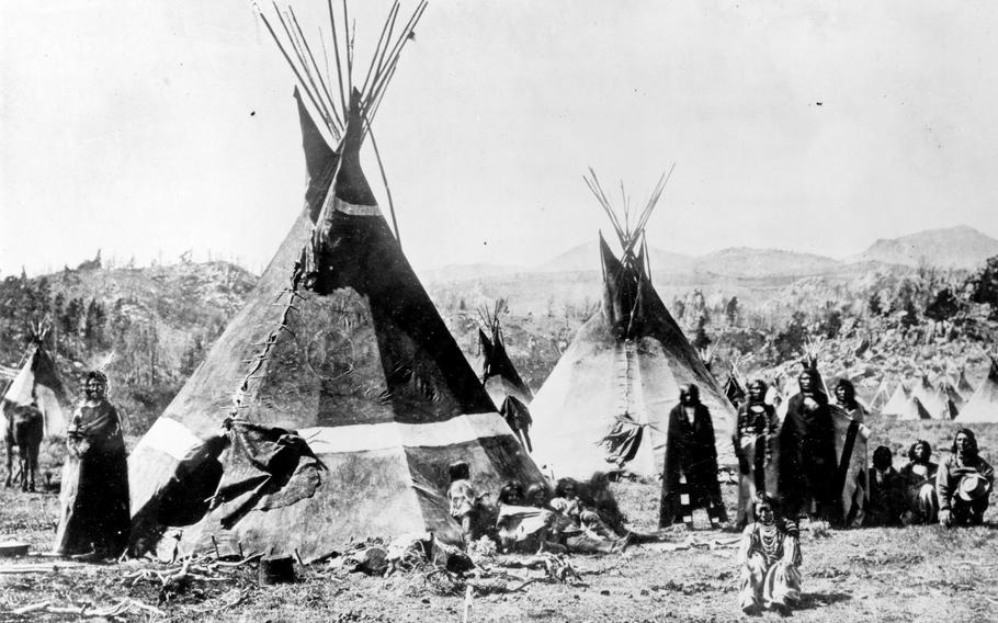 Shoshone Indians.