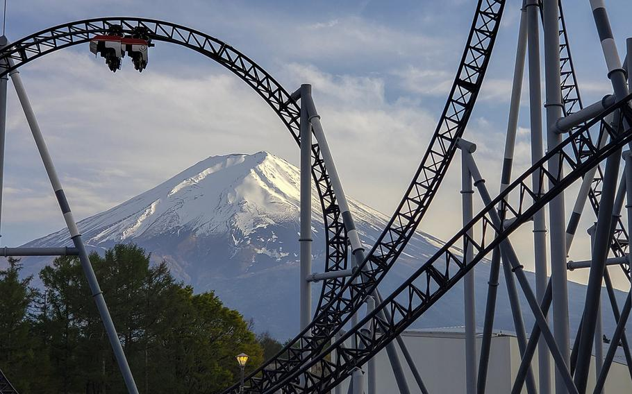 The Fuji-Q Highland's Takabisha roller coaster holds the Guinness World record for steepest incline for a ride of its type, 121 degrees.