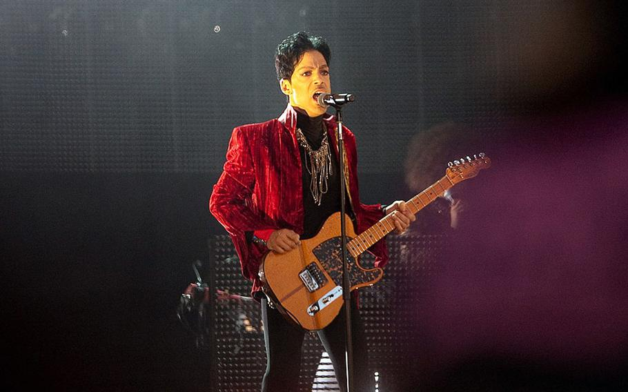"""Prince, shown in 2011, has a new single out, """"Born 2 Die,"""" from his posthumous album due to drop July 30."""