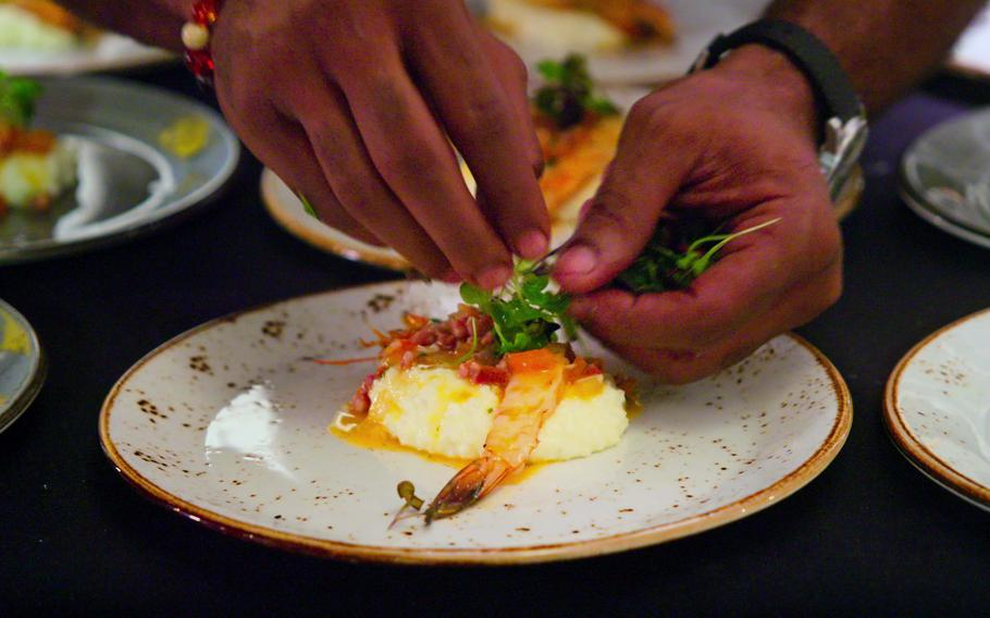 """High on the Hog: How African American Cuisine Transformed America. Episode 1, """"Our Roots""""."""