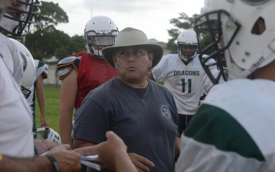 Tony Alvarado takes over as Kubasaki's head coach after 10 years as a defensive assistant.