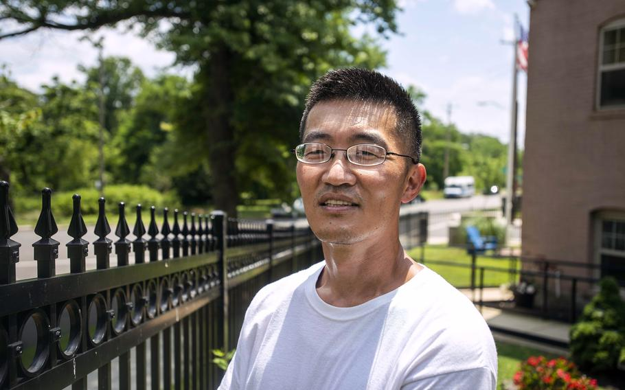 Sung-ha Jou, who lost his job, his home, his belongings and his van during the pandemic, saw his luck turn around when he won a year's worth of Metro rides as part of Washington, D.C.'s coronavirus vaccination lottery.
