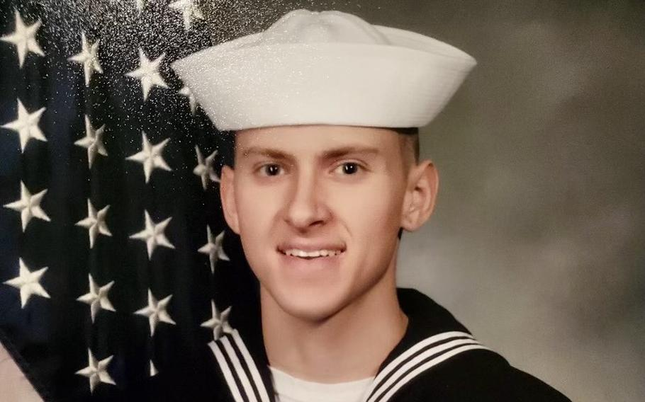 Hospital Corpsman 3rd Class Bailey J. Tucker, 21, shown here in an undated photo released by the U.S. Navy, was from St. Louis, Missouri. Tucker was one of five Sailors killed when an MH-60S Seahawk helicopter, assigned to Helicopter Sea Combat Squadron 8, crashed approximately 60 nautical miles off the coast of San Diego, Aug. 31.