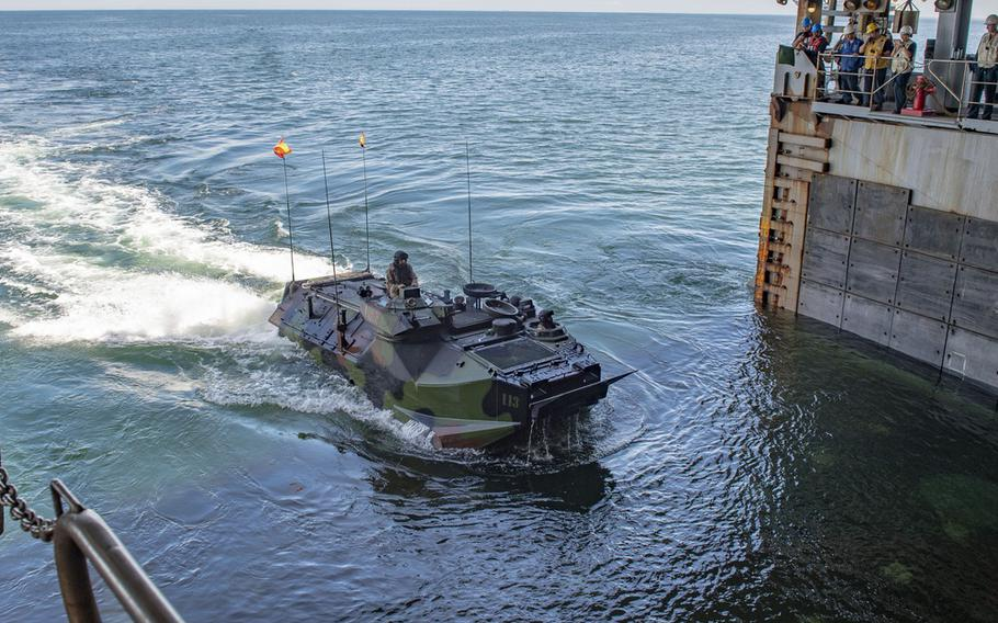 The investigation, which examined the formation of the 15th Marine Expeditionary Unit, was released alongside the Navy's own report into its role in the incident.