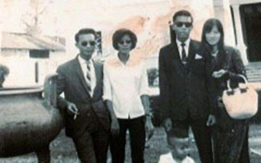 Army Maj. Gen. Viet Luong is pictured with family members in Vietnam during the 1960s.