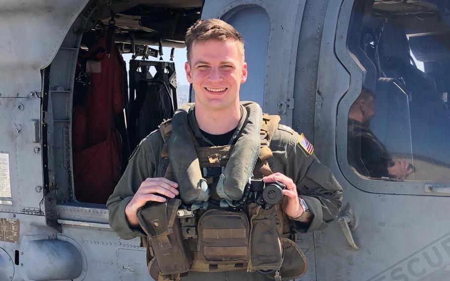 Lt. Paul R. Fridley, 28, shown here in an undated photo released by the U.S. Navy, was a pilot from Annandale, Virginia. Fridley was one of five Sailors killed when an MH-60S Seahawk helicopter, assigned to Helicopter Sea Combat Squadron 8, crashed approximately 60 nautical miles off the coast of San Diego, Aug. 31.