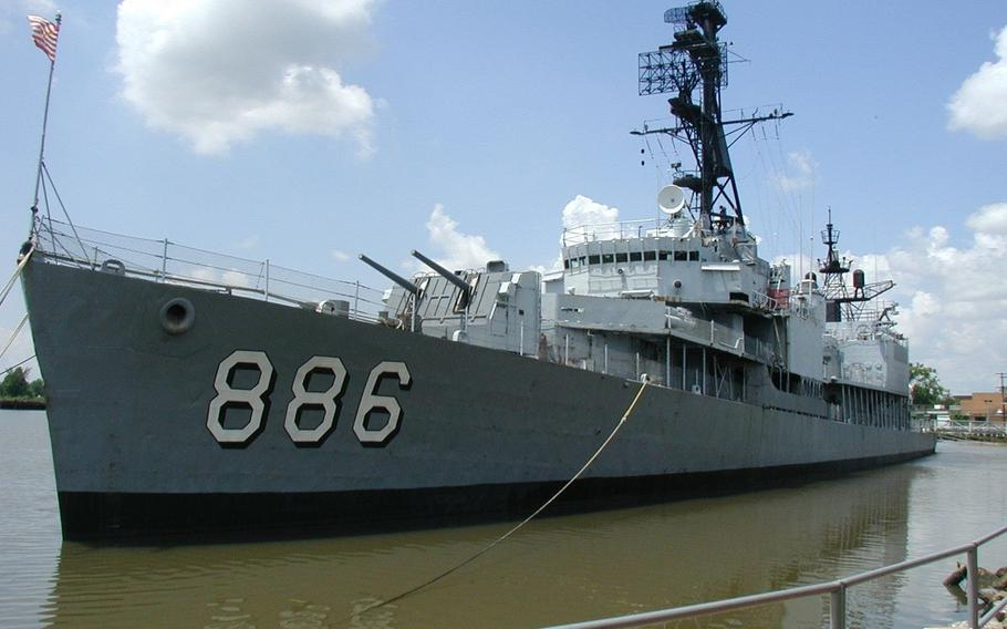 The USS Orleck will soon begin a journey from Lake Charles, La., that could eventually bring it to Jacksonville.