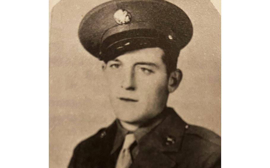 World War II veteran Army Pvt. Warren G.H. DaVault. Davault's name — misspelled as DeVault on military records as a result of a clerical error — is recorded on the Walls of the Missing at Netherlands American Cemetery, an American Battle Monuments Commission site in Margarten, Netherlands, along with the others still missing from World War II, according to officials.