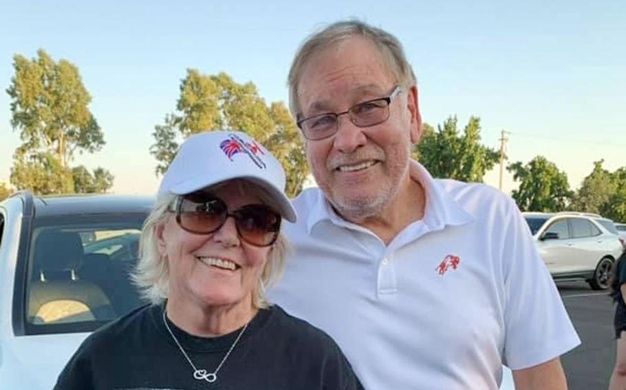 Olympian and former Marine Billy Mills and his wife, Patricia, whose plans to attend the Tokyo Games were quashed by the coronavirus pandemic, have gone to several Olympiads since his 1964 gold medal. He helped carry the Olympic flag into Los Angeles Coliseum at the 1984 games.