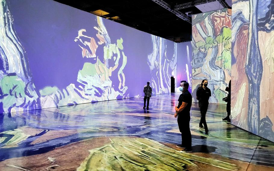 Beyond Van Gogh: The Immersive Experience, running through Sept. 26, 2021, at the Honolulu Convention Center, surrounds visitors with more than 300 paintings and watercolors by the 19th-century post-Expressionist.