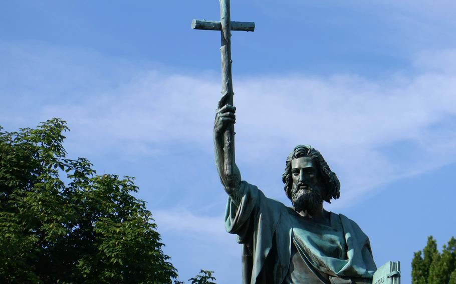 Fulda is the burial place of St. Boniface, the eighth-century missionary and bishop credited with bringing Christianity to Germany.