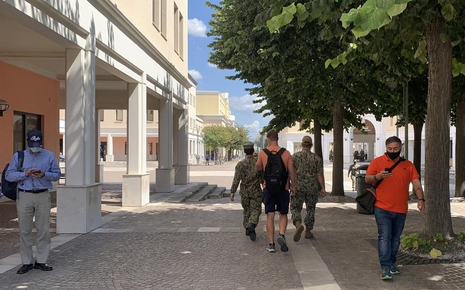 Naval Support Activity Naples recently began a program designed to address grooming, uniform and other military life standards that had become lax due to people adjusting their lives to COVID-19, the base's senior enlisted leader said.